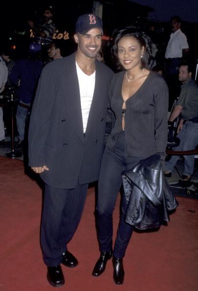 Lela Rochon and Shemar Moore