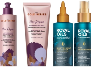 P&G's Gold Series and Royal Oils Collections