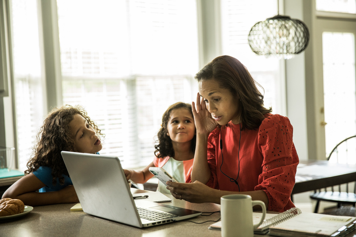working moms during the pandemic