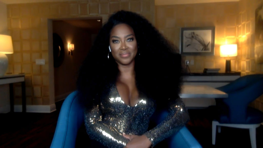Kenya Moore on Watch What Happens Live With Andy Cohen - Season 17