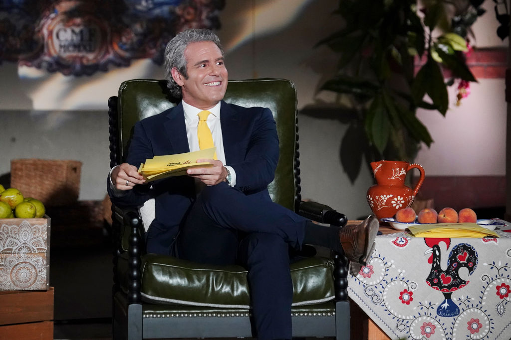 Andy Cohen at The Real Housewives of Potomac - Season 5