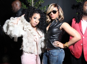 Ashanti and Keyshia Cole pictured at Meek Mill GRAMMY After Party, are having their Verzuz battle postponed yet again