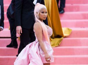 Nicki Minaj at The 2019 Met Gala Celebrating Camp: Notes on Fashion - Street Sightings