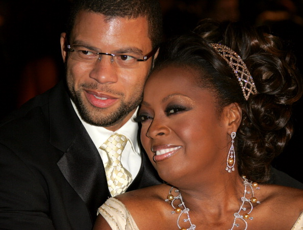 Al Reynolds and Star Jones at 2005 Vanity Fair Oscar Party - Arrivals