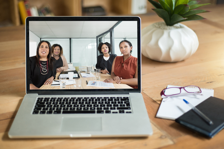 Communicating with colleagues across the globe
