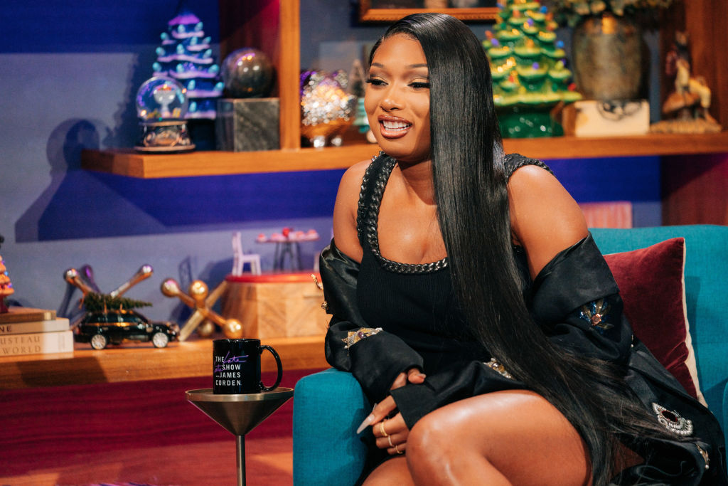 Megan Thee Stallion on The Late Late Show with James Corden...