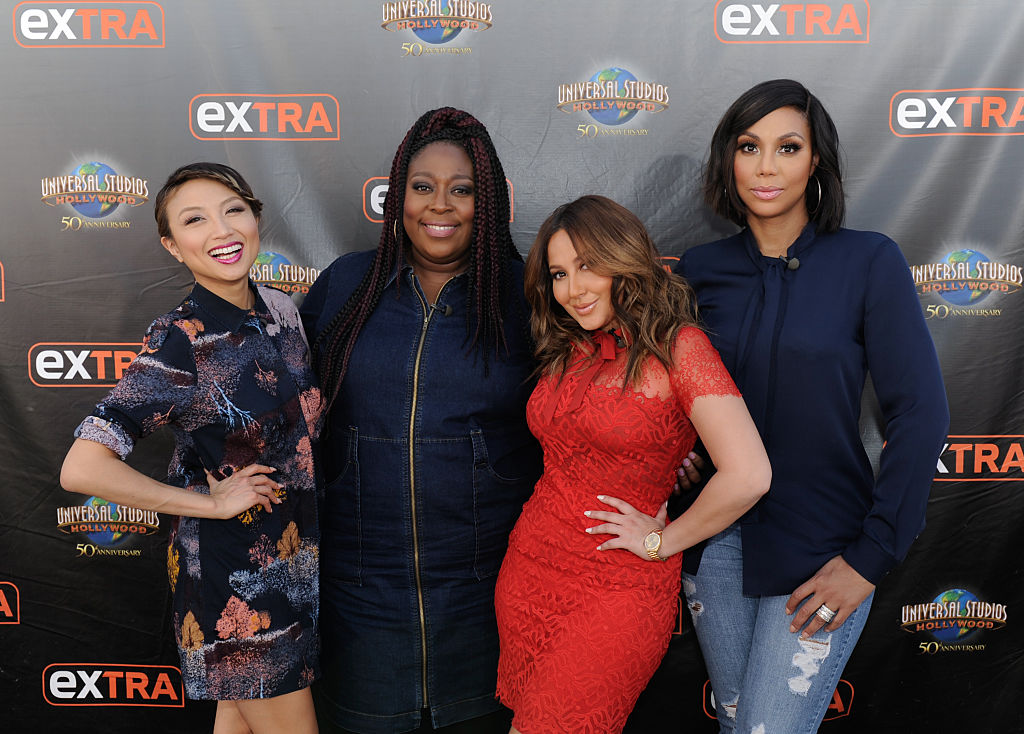 """Ladies Of """"The Real"""" On """"Extra"""""""