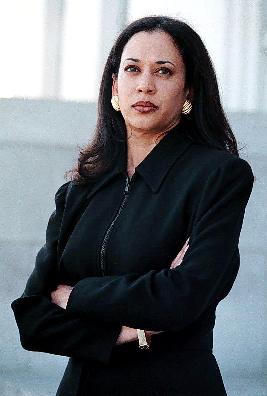 Alameda County deputy district attorney Kamala Harris...