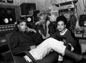 Salt 'N Pepa at Bayside Sound Recording Studios