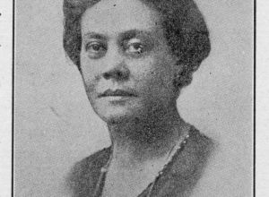 Portrait Of Alice Dunbar-Nelson