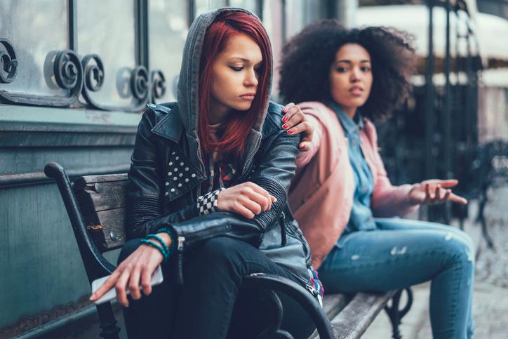 Conflict between girls