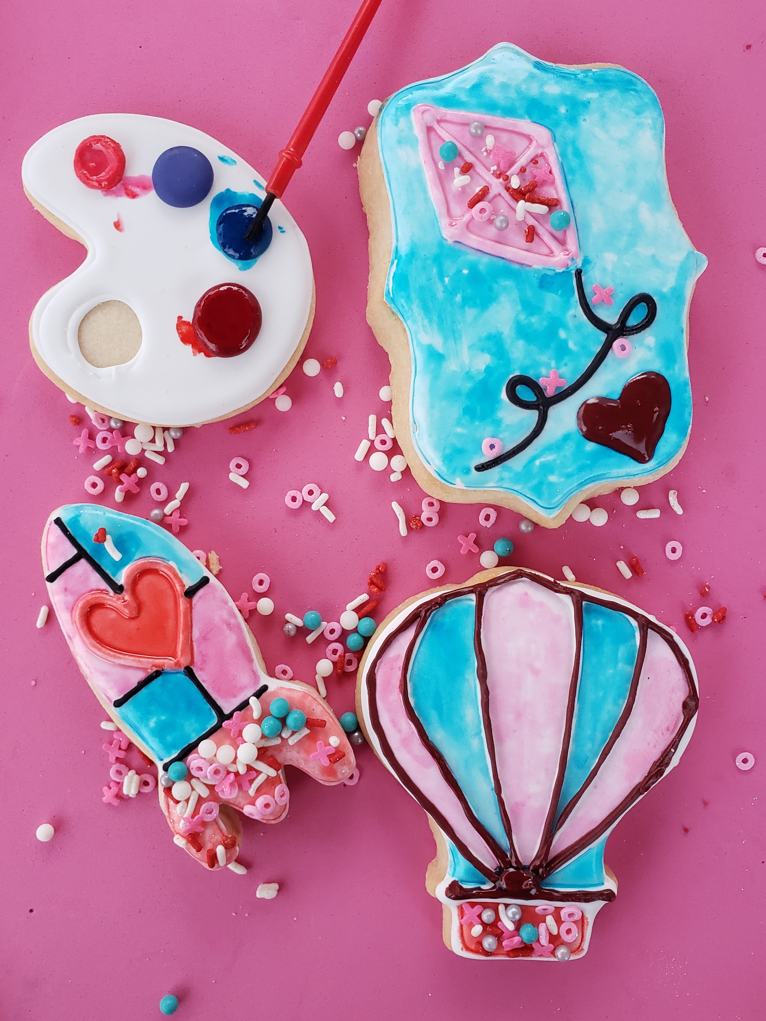 Color My Cookie Decorating Kit
