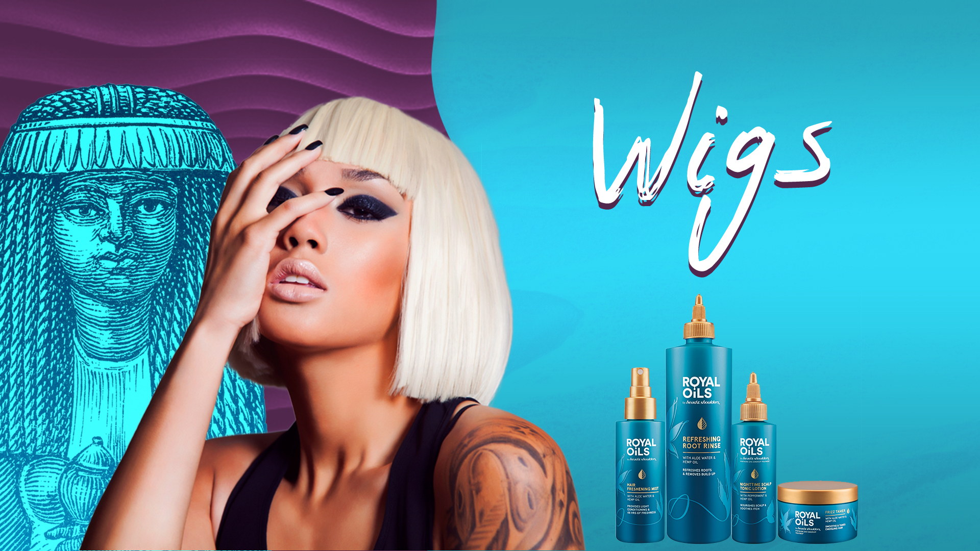 P&G Inspired Hair Campaign Winter 2021