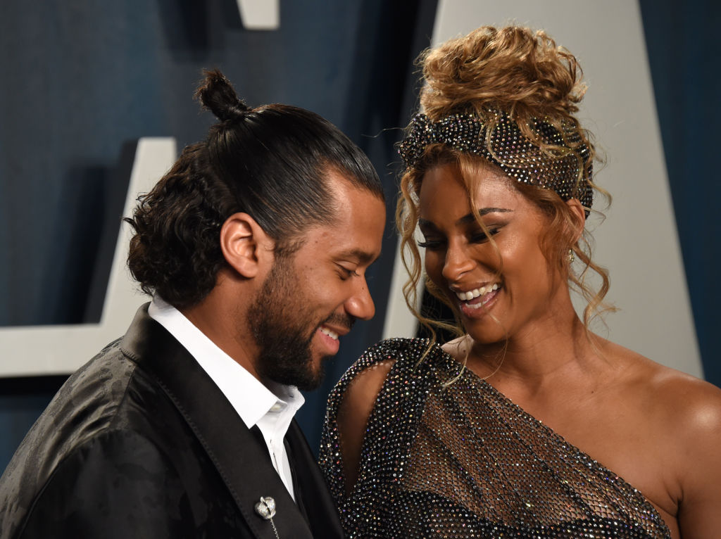 Russell Wilson Tells Ciara It's Time To Stop Breastfeeding