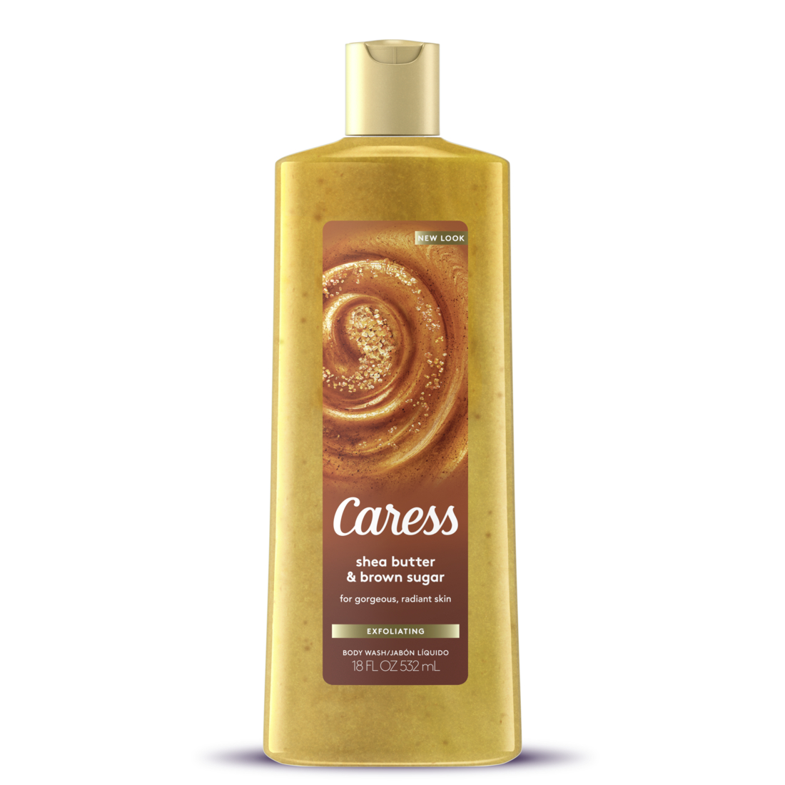 Caress Shea Butter & Brown Sugar body wash