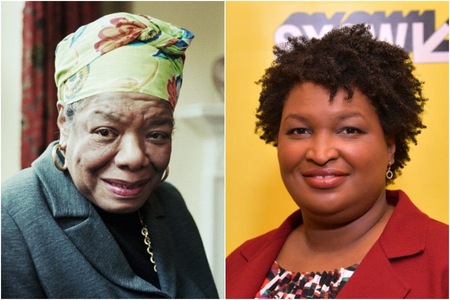 maya angelou and stacey abrams