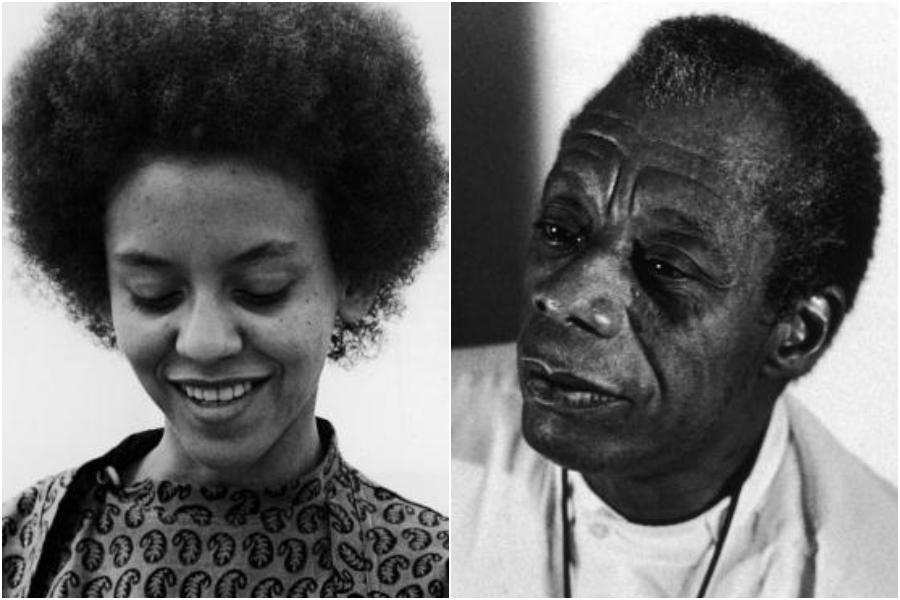 Nikki Giovanni and James Baldwin