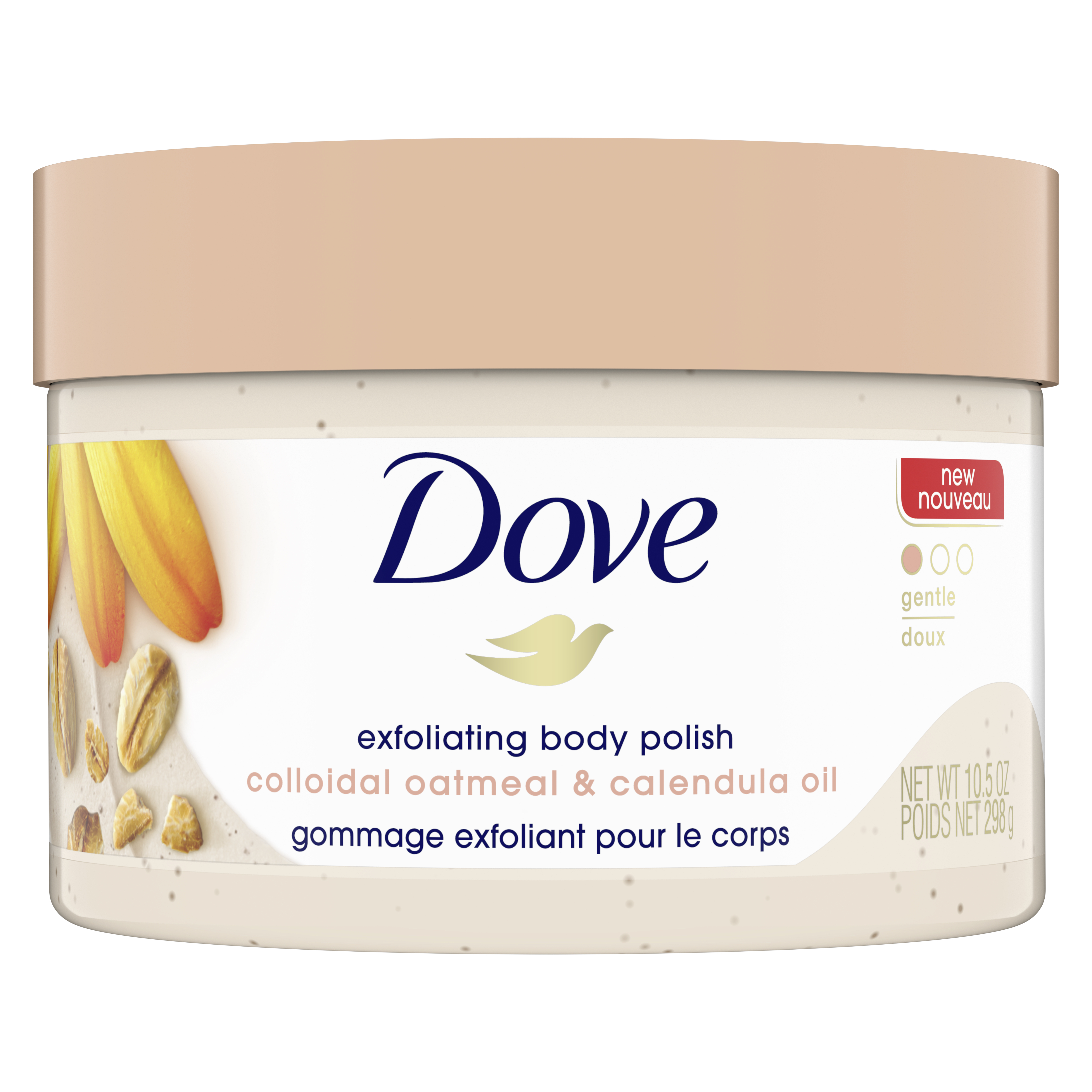 dove soothing care