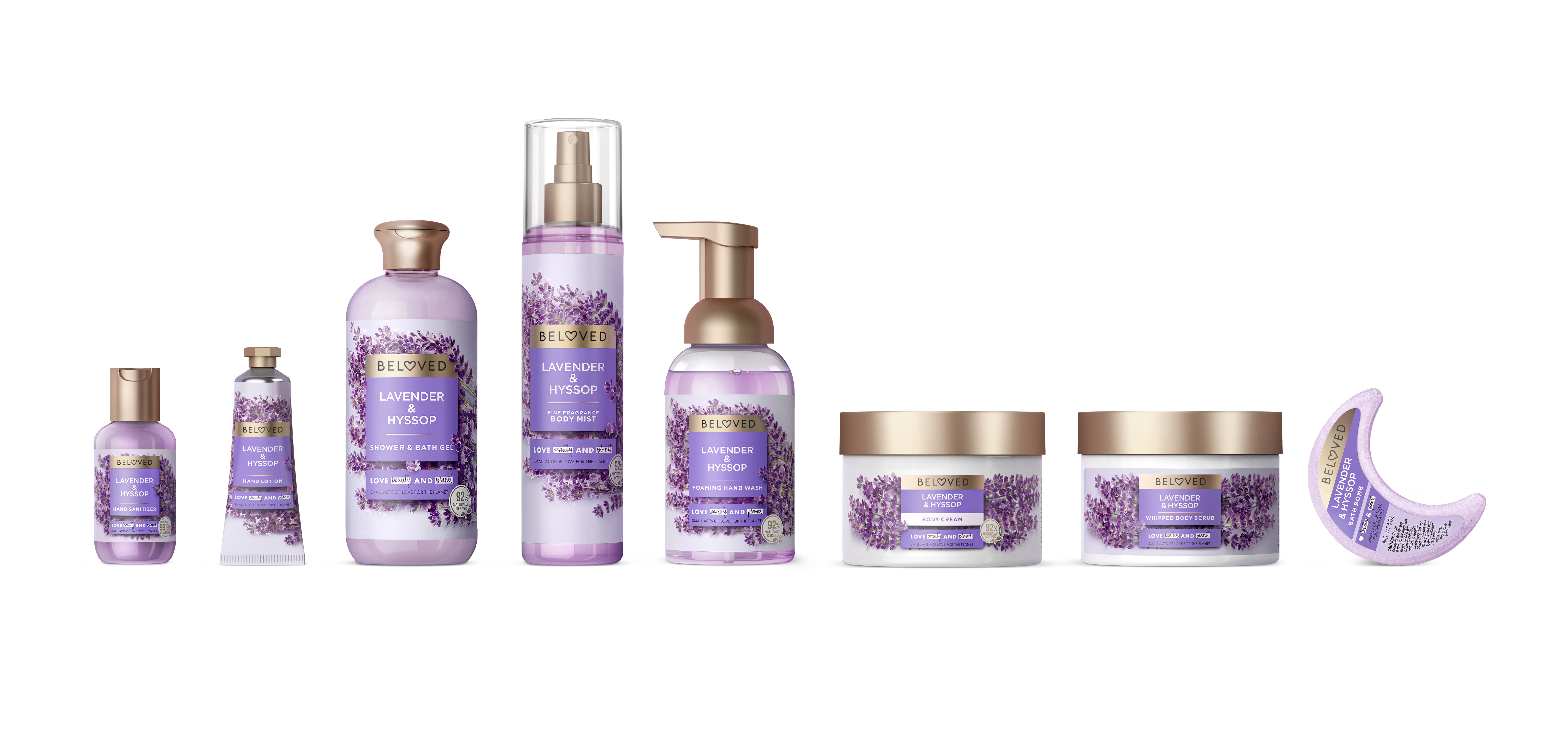 love beauty planet lavender and hyssop range