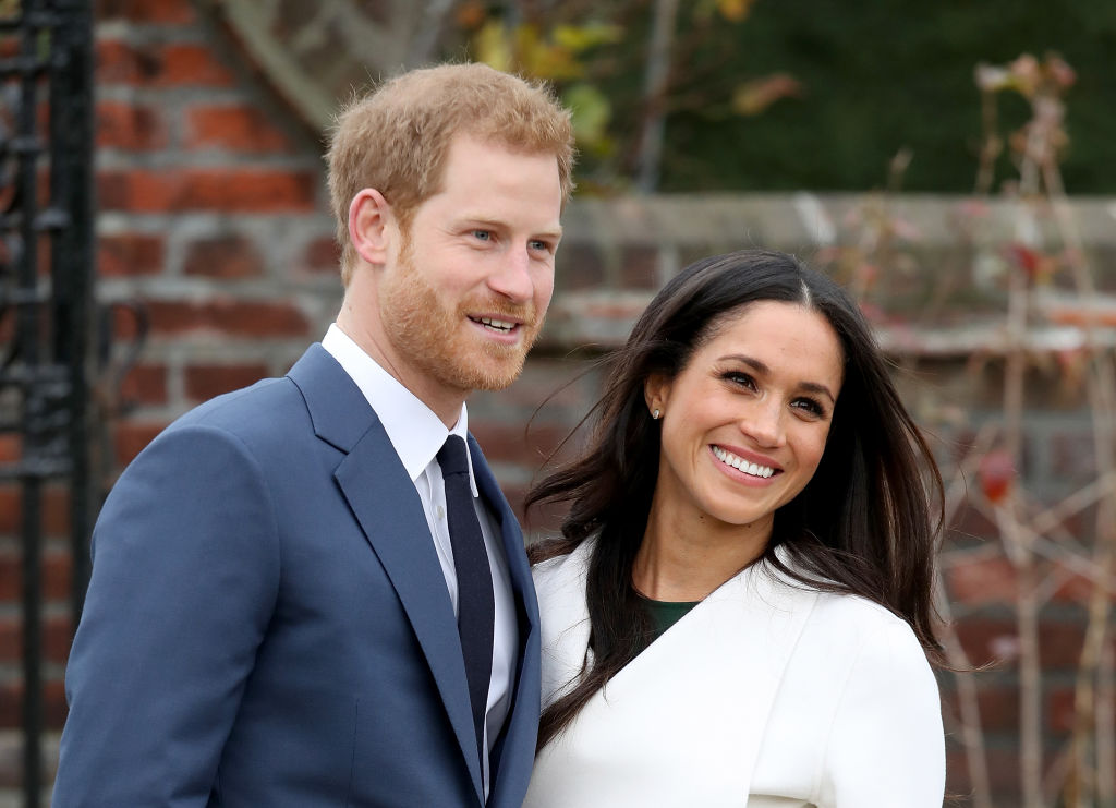 Announcement Of Prince Harry's Engagement To Meghan Markle
