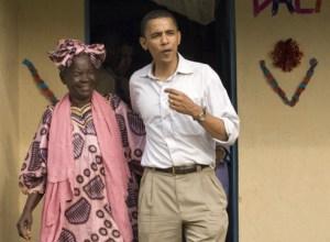 Sarah Ogwel Onyango Obama