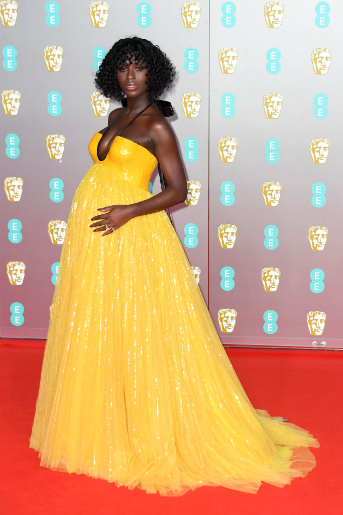 jodie turner smith pregnancy style
