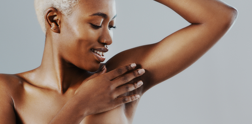 Smooth underarms all day, ever day