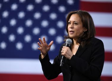 Kamala Harris Attends Forum On Wages & Working People