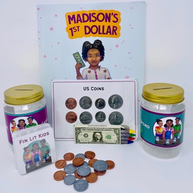 Money Box - Madison's First Dollar