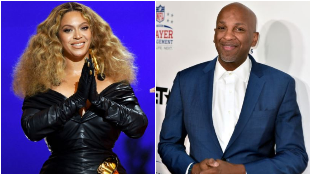 Beyonce and Donnie McClurkin