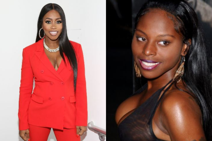 Remy Ma and Foxy Brown