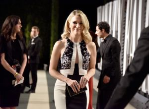 Megyn Kelly at the 2017 Vanity Fair Oscar Party Hosted By Graydon Carter - Roaming Arrivals