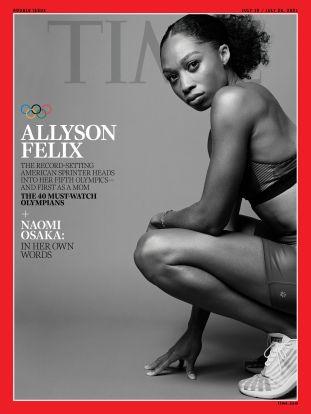 Allyson Felix Time Magazine cover