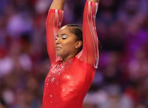 Jordan Chiles at the 2021 U.S. Olympic Trials - Gymnastics - Day 4