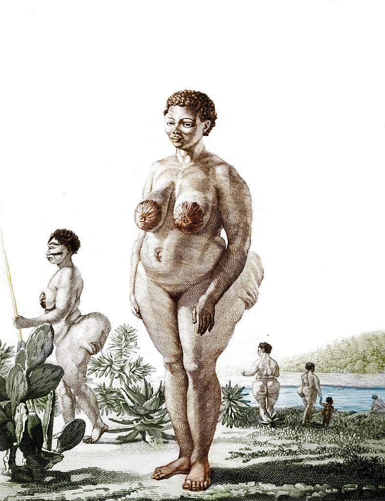 Illustration of Hottentot Venus