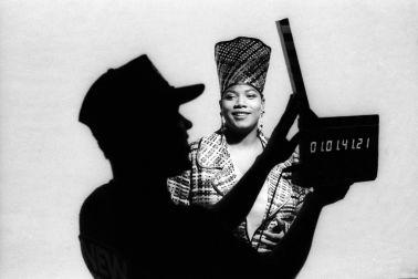 "Queen Latifah Shoots The ""Fly Girl"" Music Video"