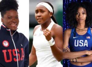 Black women Olympian