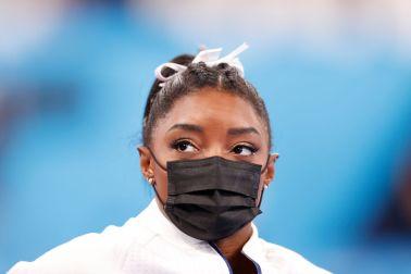 Simone Biles at the Gymnastics - Artistic - Olympics: Day 4