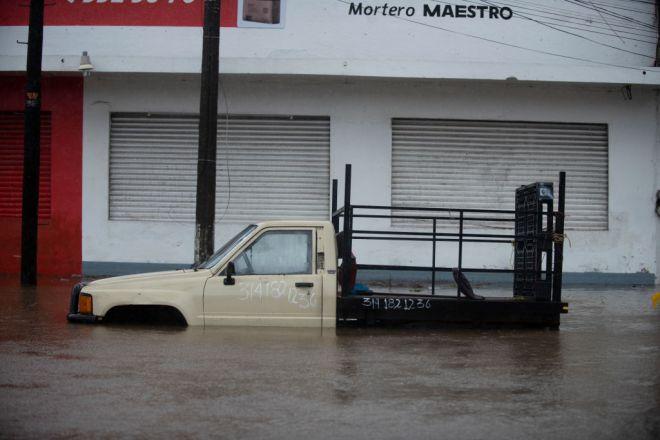 Hurricane Nora Impacts Colima, Mexico