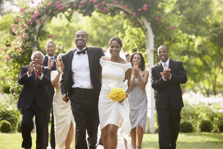 newlyweds send bill to guests