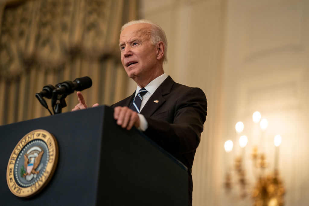 President Joe Biden delivers remarks on COVID-19 vaccinations and the Delta Variant