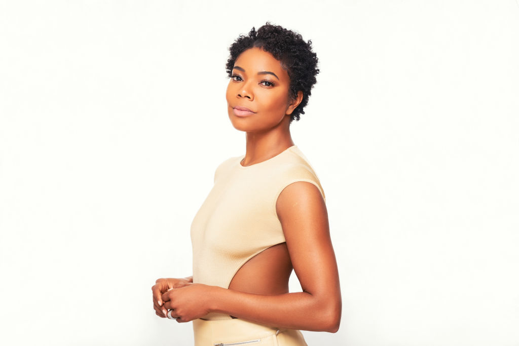 Portraits of actress Gabrielle Union photographed in her home.