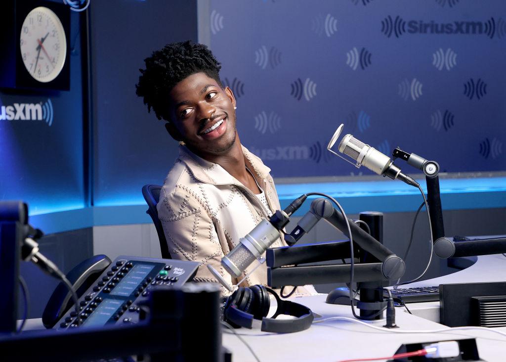 Celebrities Visit The SiriusXM Studios In New York City