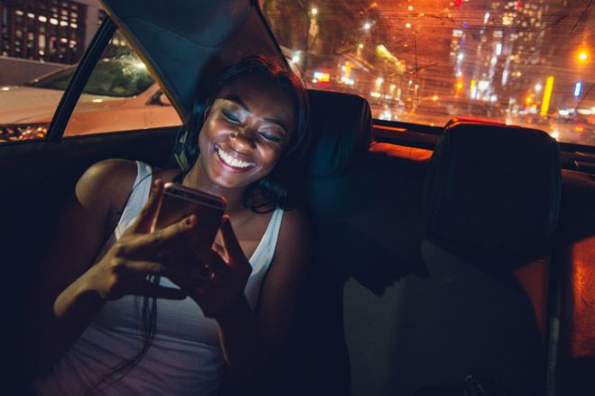 Taxi Ride in New York City